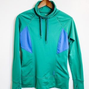 Reebok Pullover Green/Blue